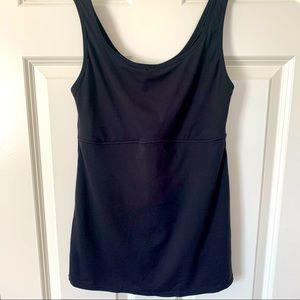 Flexees shapewear tank cami mesh lining & spandex